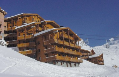 family ski chalet holiday deals in val thorens